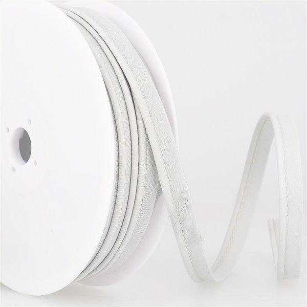 Bobine 25m Passepoil mèche 2mm gris clair - Photo n°1