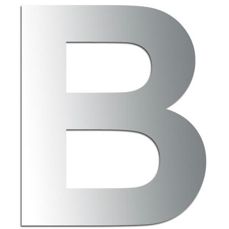 Miroir adhésif lettre B majuscule - 3,2 cm - Rico Design
