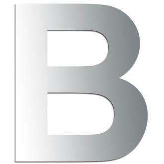 Miroir adhésif lettre B majuscule - 3,2 cm
