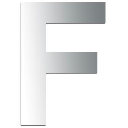 Miroir adhésif lettre F majuscule - 3,2 cm - Rico Design