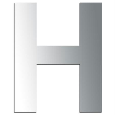 Miroir adhésif lettre H majuscule - 3,2 cm - Rico Design