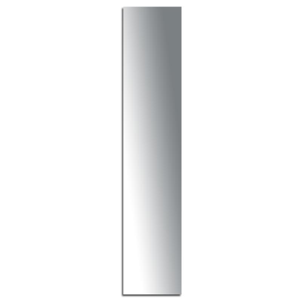 Miroir adhésif lettre I majuscule - 3,2 cm