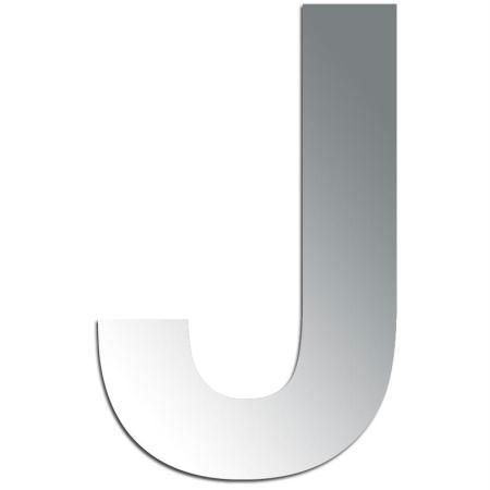 Miroir adhésif lettre J majuscule - 3,2 cm - Rico Design