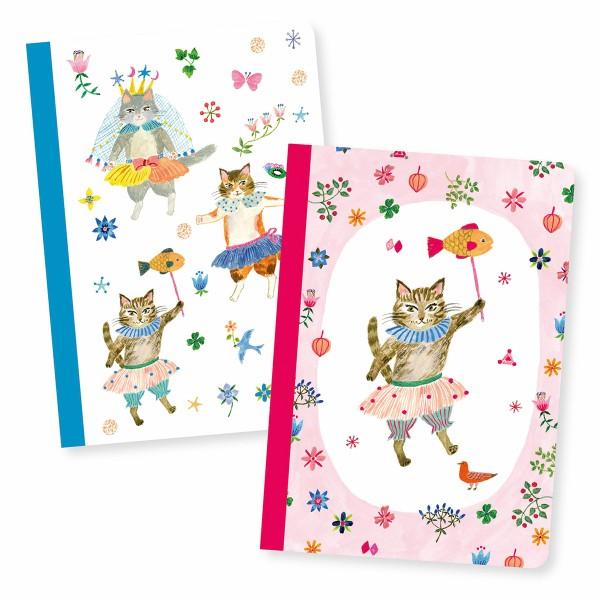 Petits Carnets de Notes Aiko - 10,5 x 15 cm - 2 pcs - Photo n°1