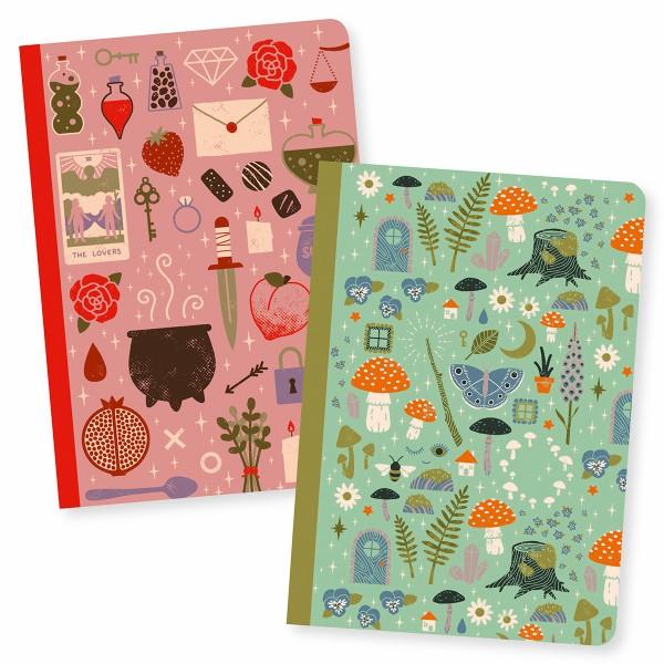 Petits Carnets de Notes Camille - 10,5 x 15 cm - 2 pcs - Photo n°1