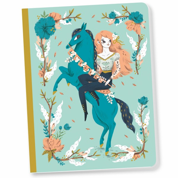 Cahier Lucille - 15 x 19,5 cm - 48 pages - Photo n°2