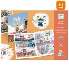 Kit Créatif Djeco - BD à créer - Sailor & Gipsy