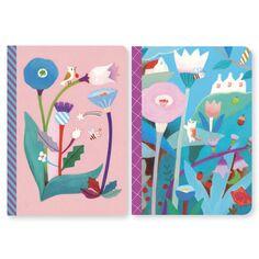 Petits Carnets de Notes Makoto - 10,5 x 15 cm - 2 pcs
