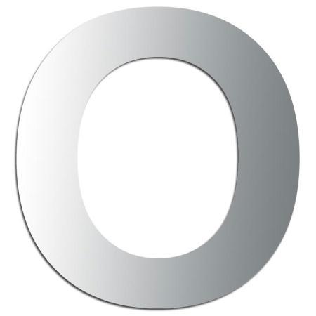 Miroir adhésif lettre O majuscule - 3,3 cm - Rico Design
