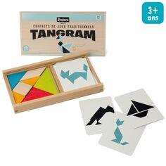 Coffret Tangram en bois