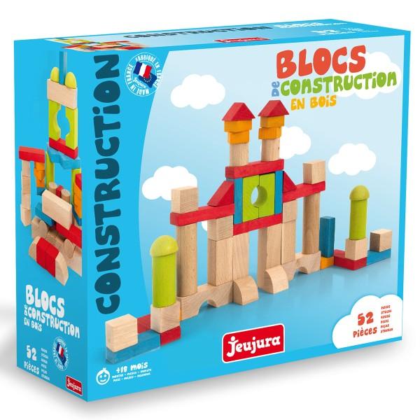 Blocs de construction en bois - 52 pcs - Photo n°2