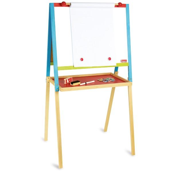 Tableau en bois sur chevalet - 105 x 56 cm - Photo n°3
