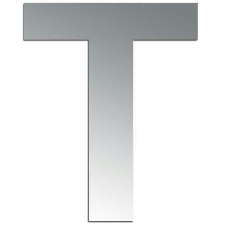 Miroir adhésif lettre T majuscule - 3,2 cm - Rico Design