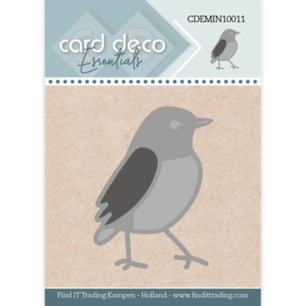 Die - CDEMIN10011 - Oiseau 3,3 x 4,6 cm - Photo n°1