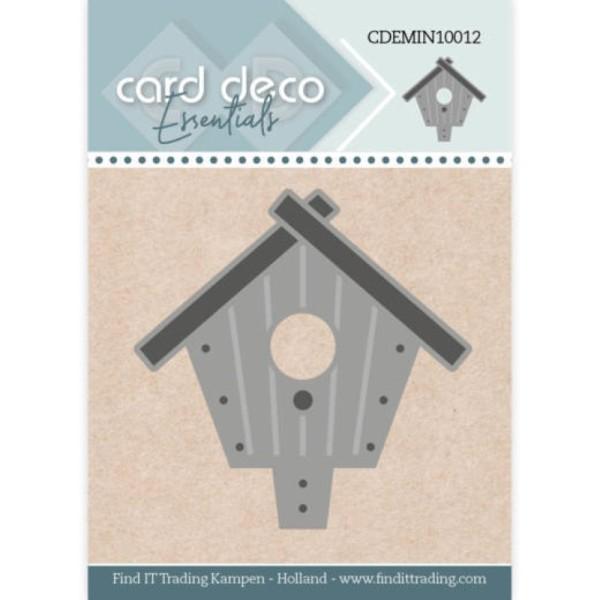 Die - CDEMIN10012 - Nichoir d'Oiseau 4,6 x 4,7 cm - Photo n°1