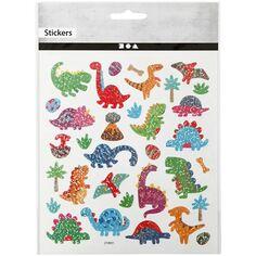 Stickers - Dinosaures - 1,2 à 4 cm - 33 pcs