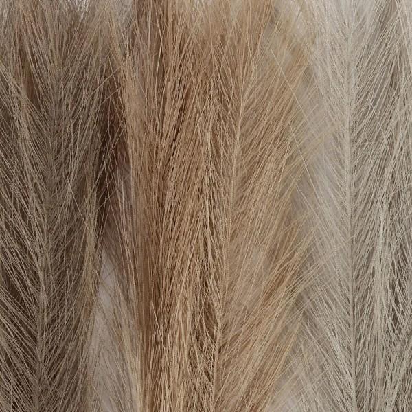 Herbes de pampa artificielles - Coloris naturel - 50 cm - 3 pcs - Photo n°3