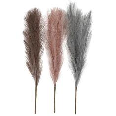 Herbes de pampa artificielles - 50 cm - 3 pcs