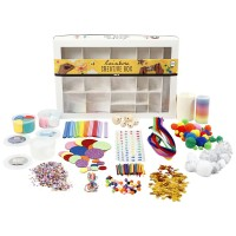 Kit Créatif pour activité manuelle - Arc-en-ciel