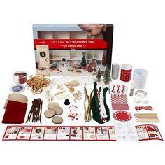 Kit Créatif de Noël - 24 activités pour l'elfe de Noël