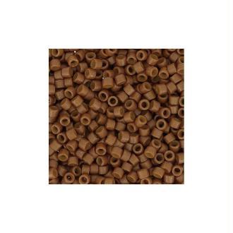 5 G (+/- 875 perles) Délica miyuki 11/0 curry foncé opaque 2110  jaune foncé / marron