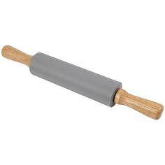 Rouleau à pâtisserie en bois et silicone - 38 cm