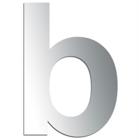 Miroir adhésif lettre B minuscule - 3,2 cm - Rico Design