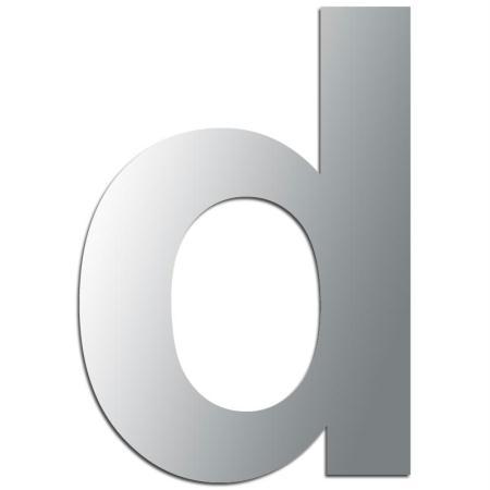 Miroir adhésif lettre D minuscule - 3,2 cm - Rico Design