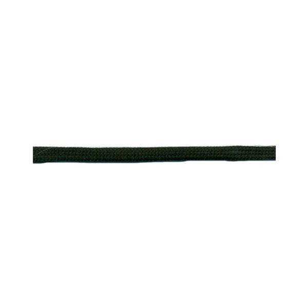 Bobine 50m queue de rat tubulaire polyester 5mm Vert Bouteille - Photo n°1