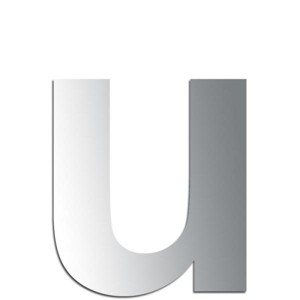 Miroir adh/ésif lettre A minuscule 2,4 cm