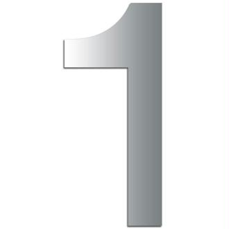 Miroir adhésif chiffre 1 - 3,2 cm
