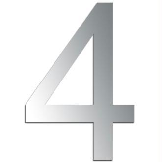 Miroir adhésif chiffre 4 - 3,2 cm