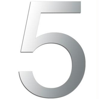 Miroir adhésif chiffre 5 - 3,2 cm