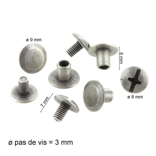 Anses de sac en cuir - Marron - 50 x 2,5 cm - 2 pcs - Photo n°3