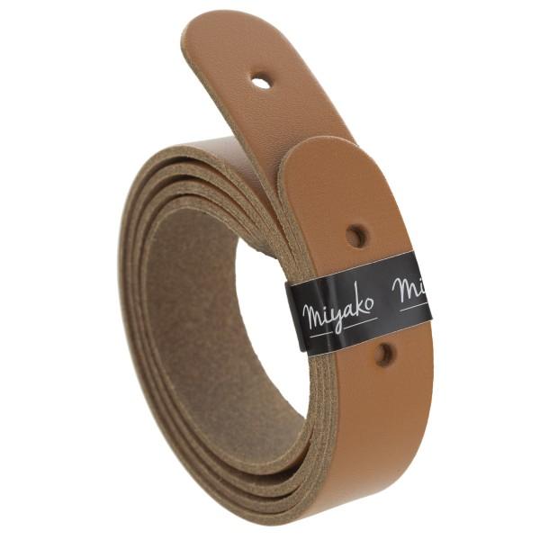 Anses de sac en cuir - Marron - 50 x 2,5 cm - 2 pcs - Photo n°1