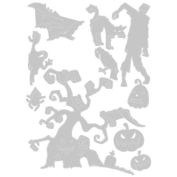 Matrice Sizzix Thinlits - Halloween - 10 pcs - Photo n°3