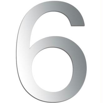 Miroir adhésif chiffre 6 ou 9 - 3,2 cm