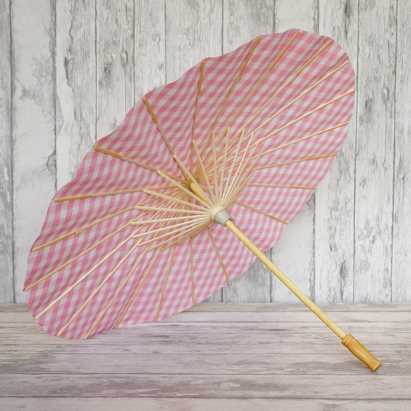Kit DIY - Monture d'ombrelle à décorer + notice - 60 x 42 cm - Photo n°2