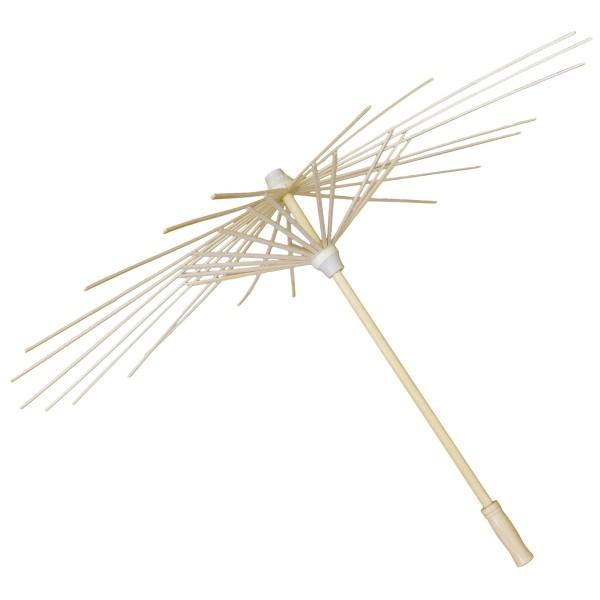 Kit DIY - Monture d'ombrelle à décorer + notice - 60 x 42 cm - Photo n°3