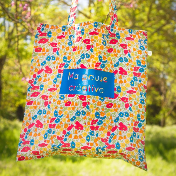 Kit Couture Tote Bag - Ma Pause Créative - 37 x 70 cm - Photo n°4
