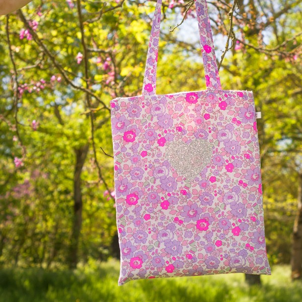 Kit Couture Tote Bag enfant - Coeur & Liberty - 25 x 56 cm - Photo n°4