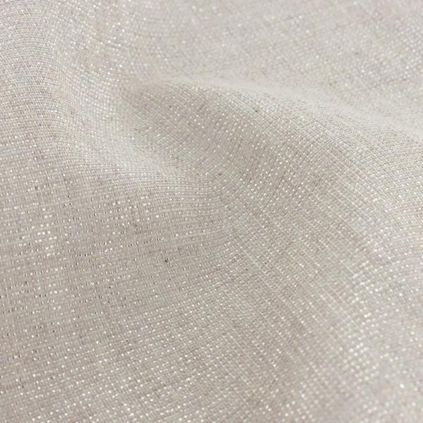Tissu Lurex - Argenté - Vendu par 10 cm - Photo n°3