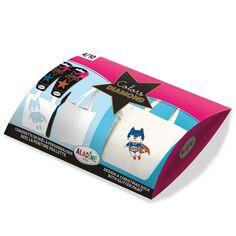 Kit DIY - Customiser un tote-bag - Super-Héro