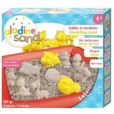 Kit créatif Sable Magique - Safari - 550 g