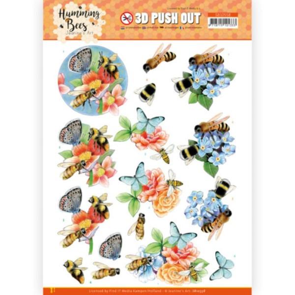 Carte 3D prédéc. - SB10558 - Les abeilles - abeilles et bourdons - Photo n°1