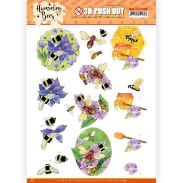 Carte 3D prédéc. - SB10557 - Les abeilles - Miel - Photo n°1