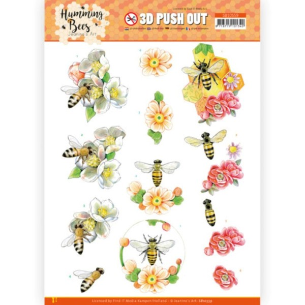 Carte 3D prédéc. - SB10559 - Les abeilles - la reine des abeilles - Photo n°1