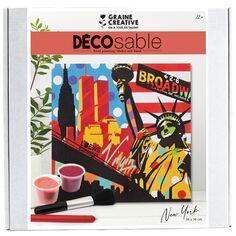 Kit Décosable - New-York Pop Art - 38 x 38 cm - 1 pce
