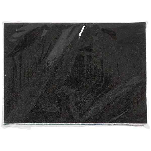 Papier cartonné et pailleté A4 - Multicolore - 50 feuilles - Photo n°3