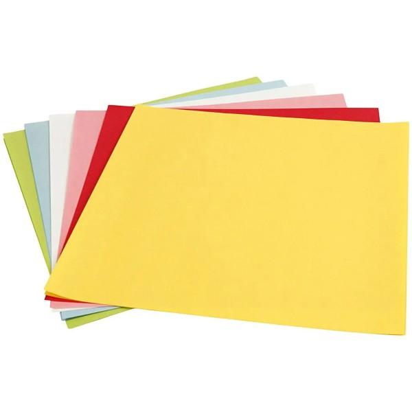 Papier Origami pour lanterne - 30 x 30 cm - 12 feuilles - Photo n°1